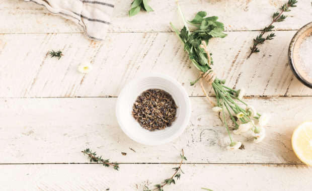 ingredients, herbs and seeds