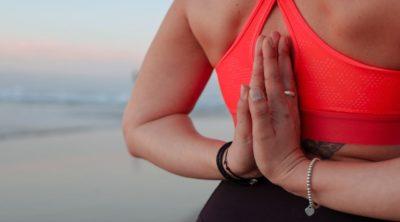 woman doing yoga for immunity