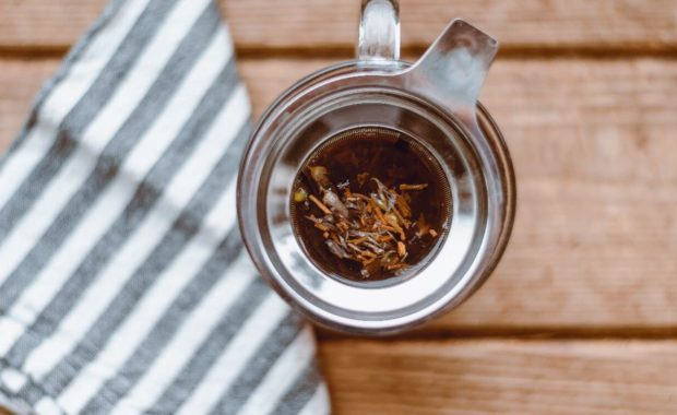 herbs in tea