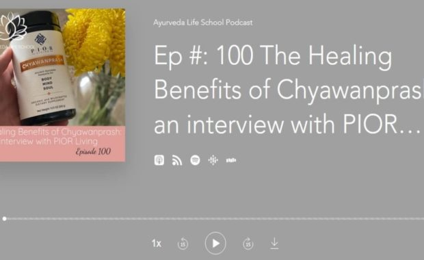 Ayurveda Life School Podcast Interview with PIOR Living